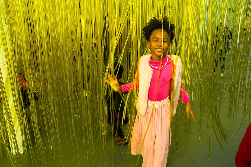 Family Day At LACMA Museum