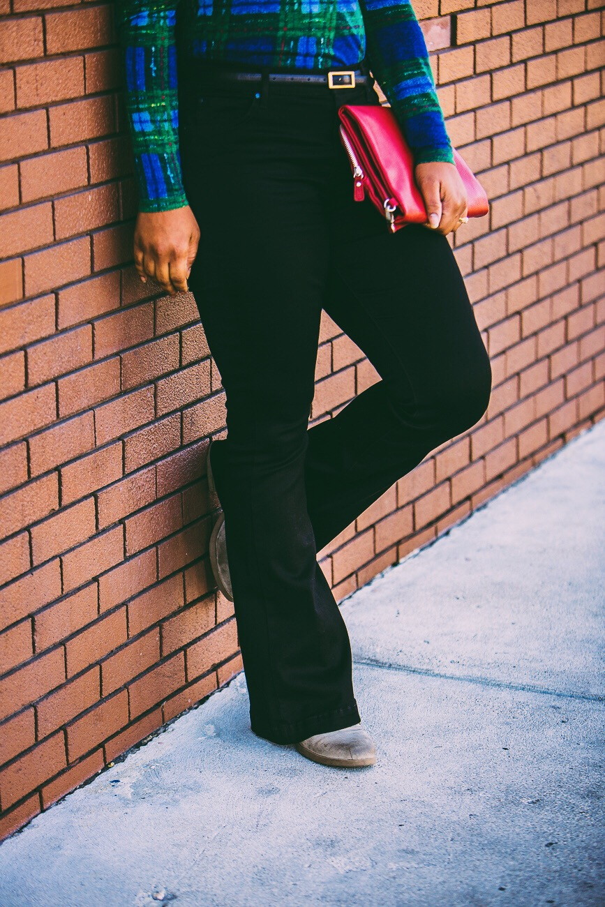 JCPennys A.n.a brand flare jeans