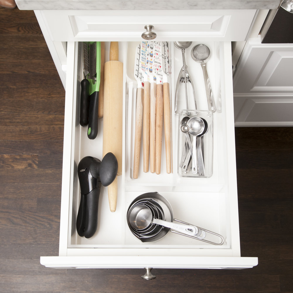 In the case of kitchen utensils, less is more.