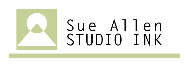 Sue Allen Studio . Ink