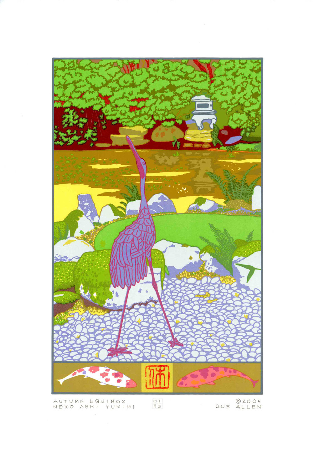 AUTUMN EQUINOX- NEKO ASHI YUKIMI  PEACE LANTERN