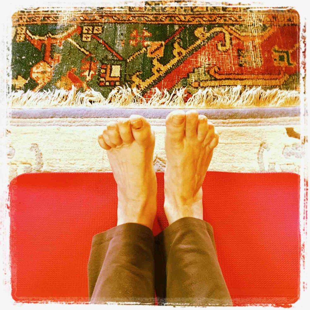 SAZZY- Sue Allen Zig Zag Yoga