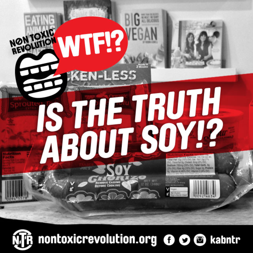 WTF?! Is The Truth About Soy?!