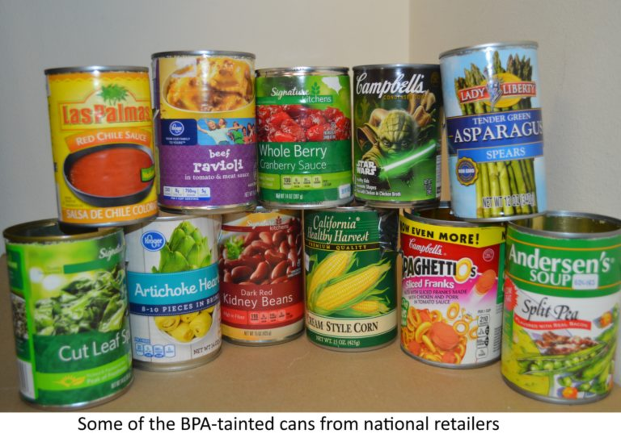 New Report: BPA still in 1/3 of Kroger & Albertsons food cans