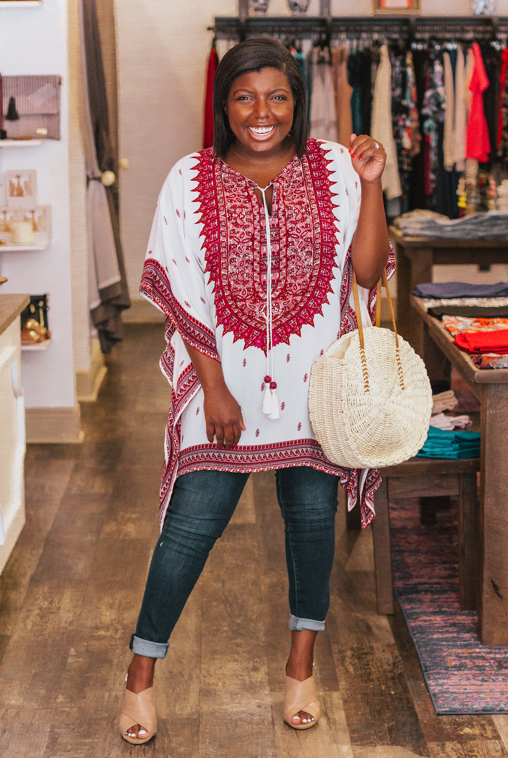 Thanks to  Scout & Molly's Hyde Park  for letting me model a few beauties! My tunic isn't available online, so I've linked a few similar items below.