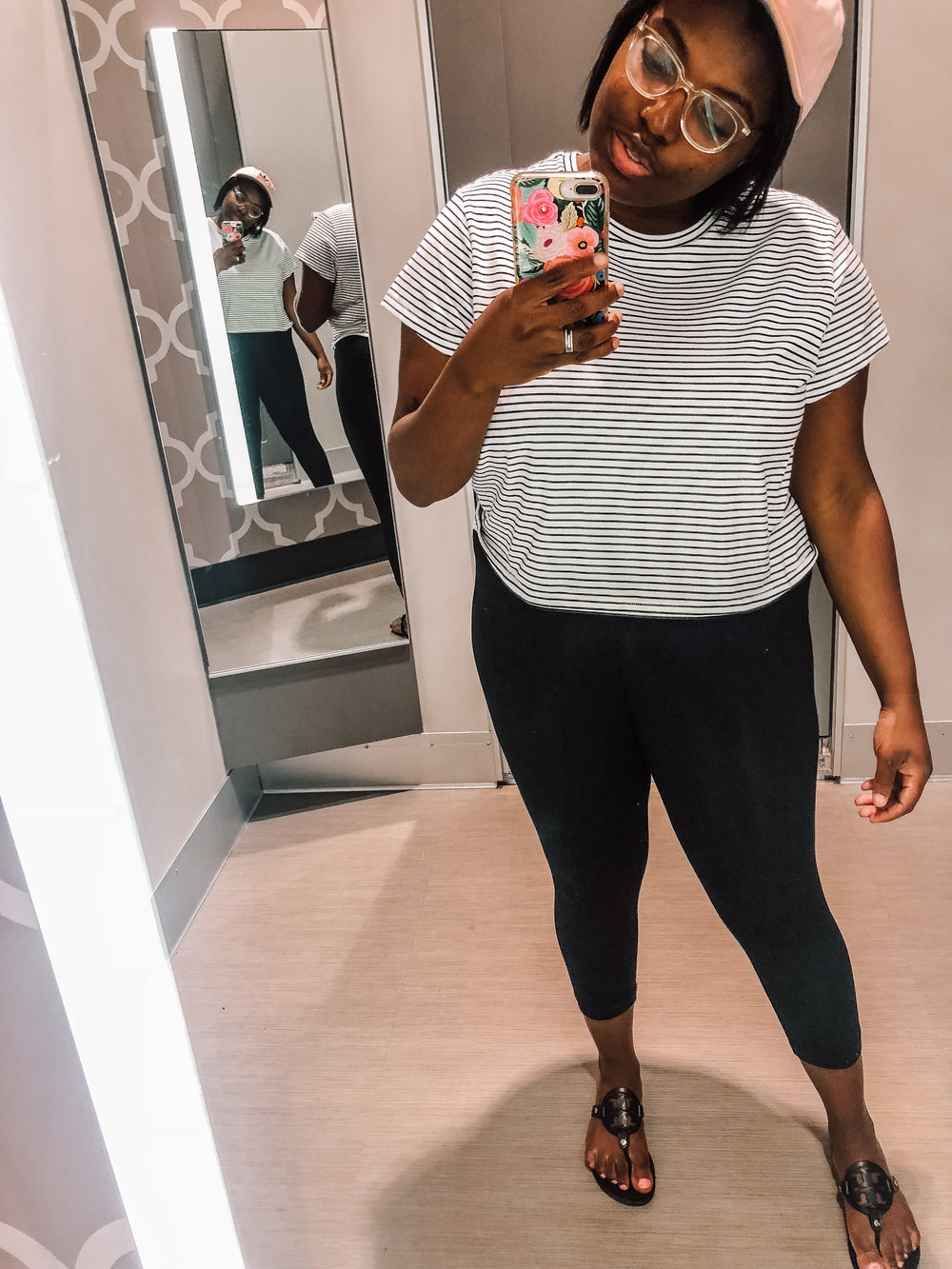 Target Wild Fable Boxy Striped Short Sleeve