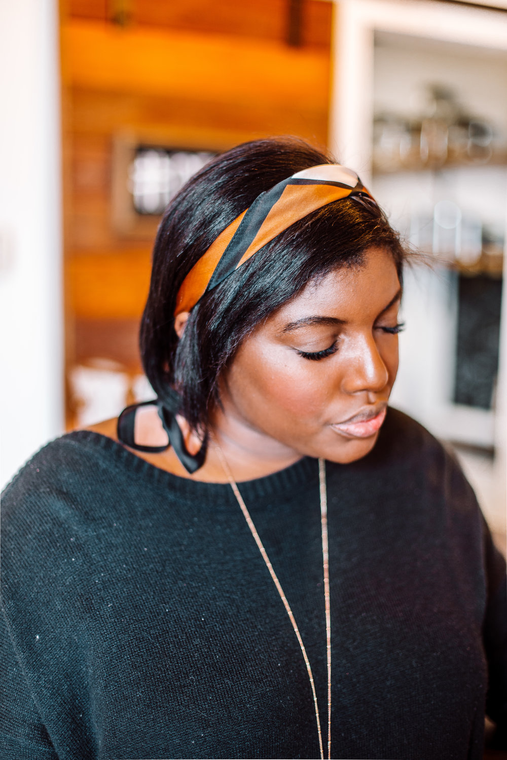 Tampa blogger Ayana Lage shows off lash extensions from local studio Lash Spa Studio.