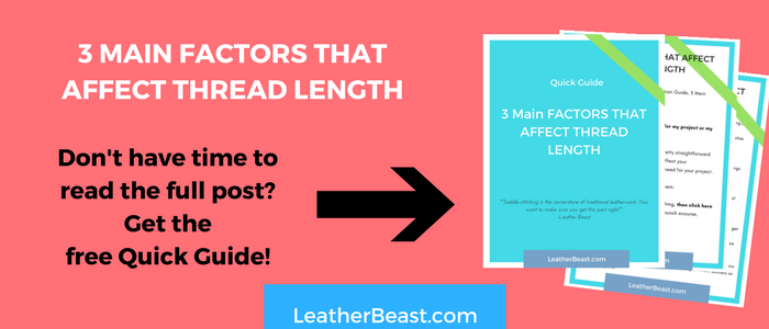 3 MAIN FACTORS THAT AFFECT THREAD LENGTH