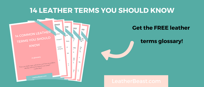 14 leather terms you should know. Do you know them? Leather Beast