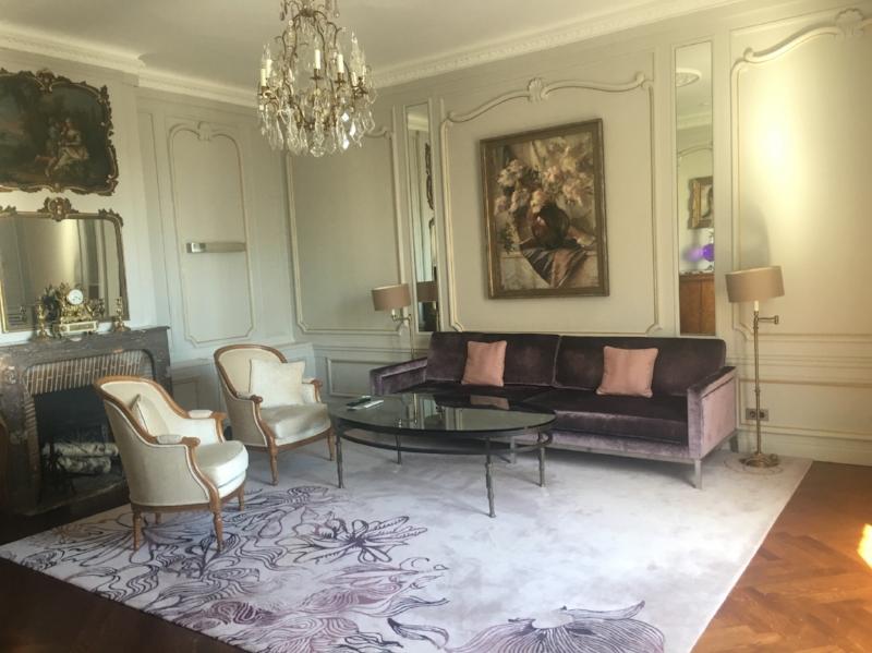 Hotel Lancaster Suite Living Room