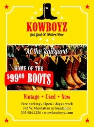 Cowboy Boots and Hats store