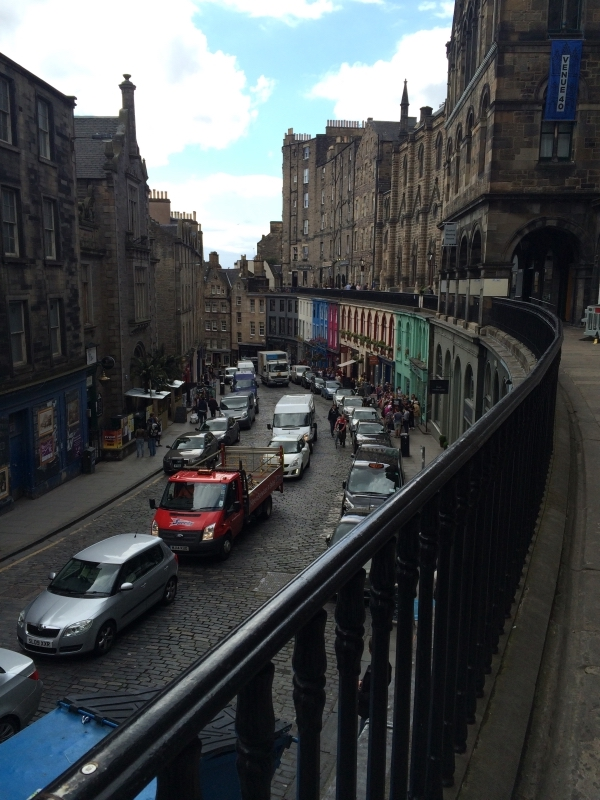 Looking Down Victoria Street.JPG
