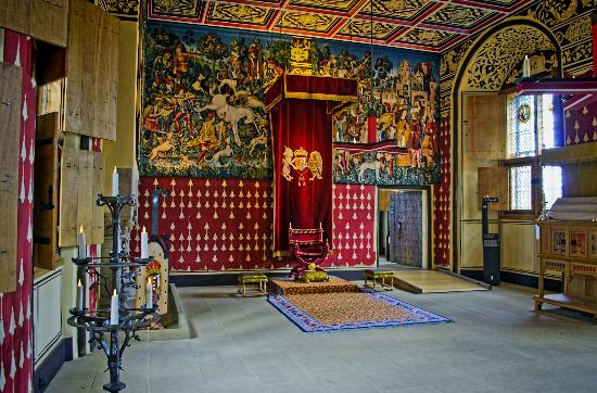 Stirling Tapestries Displayed in Queen's Inner Hall