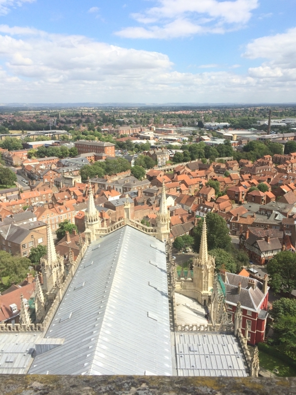 View From York Minster Roof