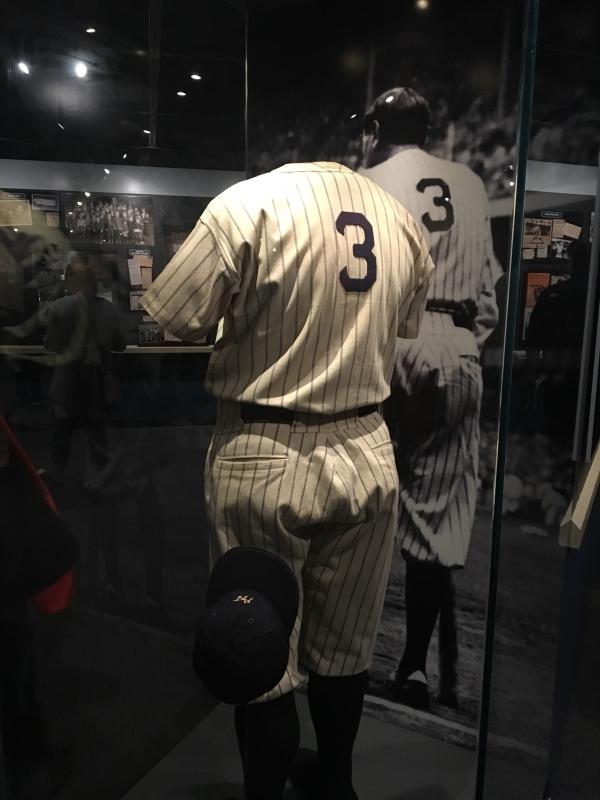 Babe Ruth's Yankees Uniform