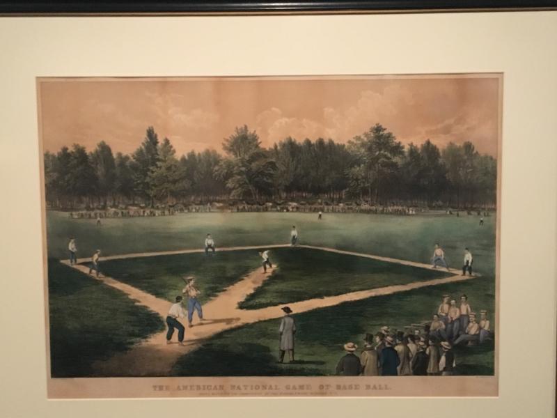 Baseball Lithograph