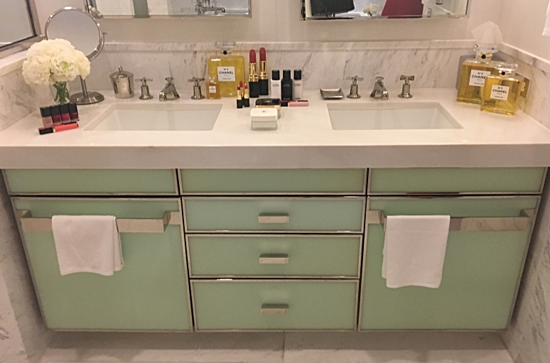 Chanel Bathroom Decor