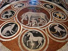 She-Wolf Mosaic