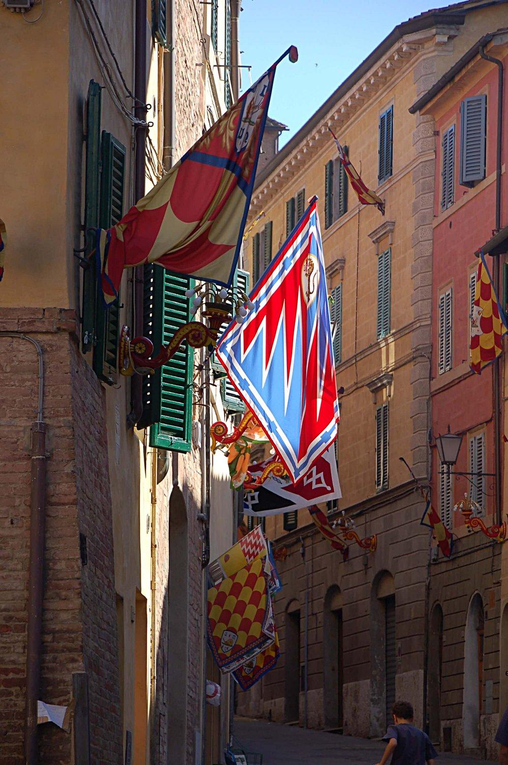 Contrade Flags
