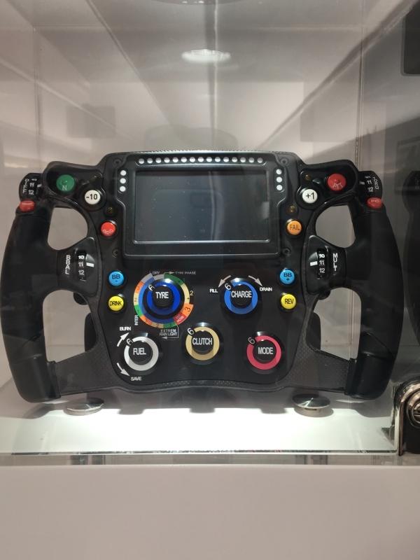 Red Bull Steering Wheel