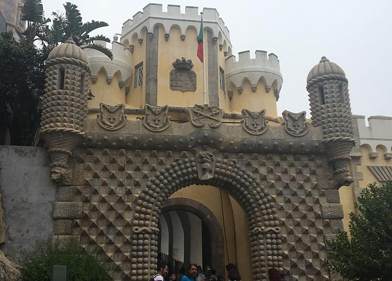Pena Palace Entrance