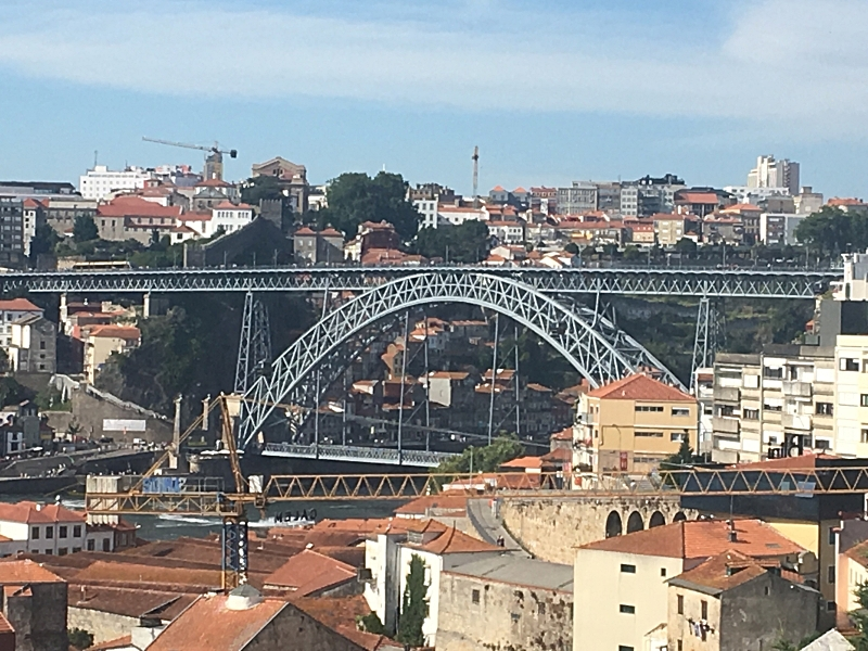 View of Ponte D. Maria Bridge