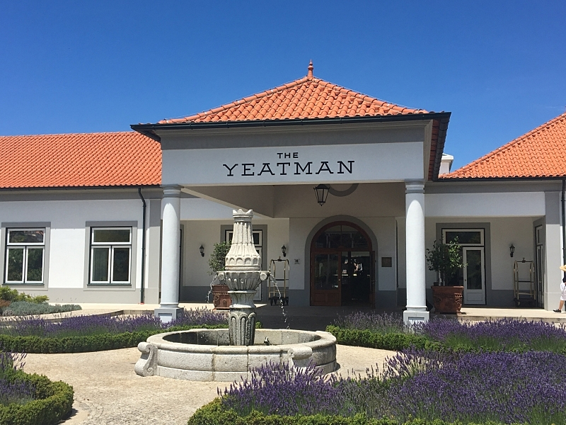 The Yeatman Entrance