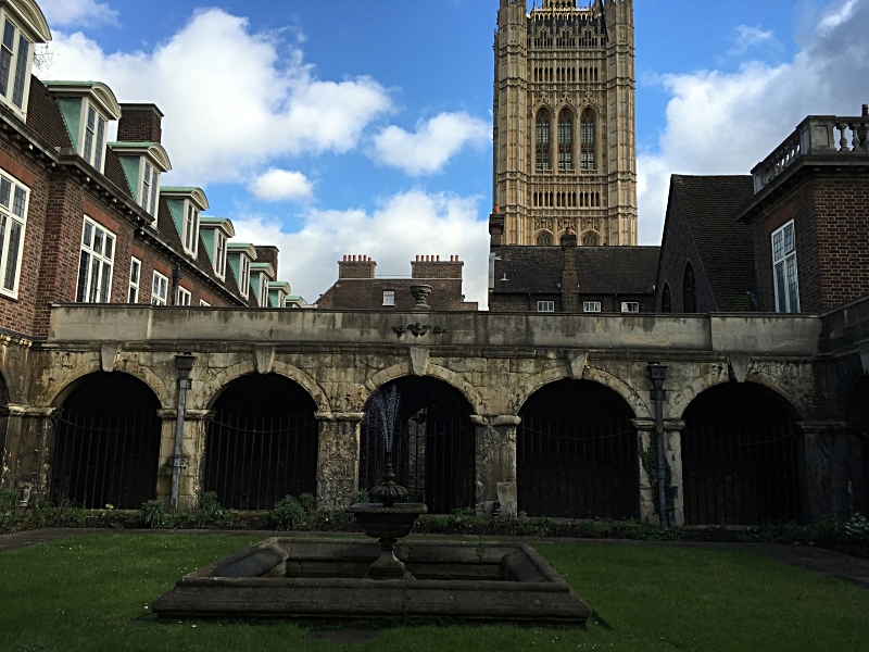 The Cloister of Westminster Abbey