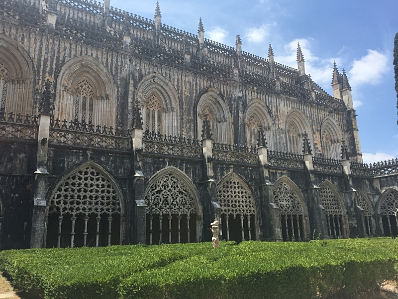 Batalha View from Cloister.JPG