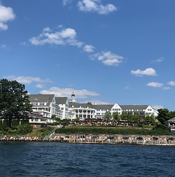 View of the Sagamore from the lake
