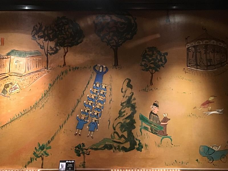 Madeline Mural in Bemelmans Bar