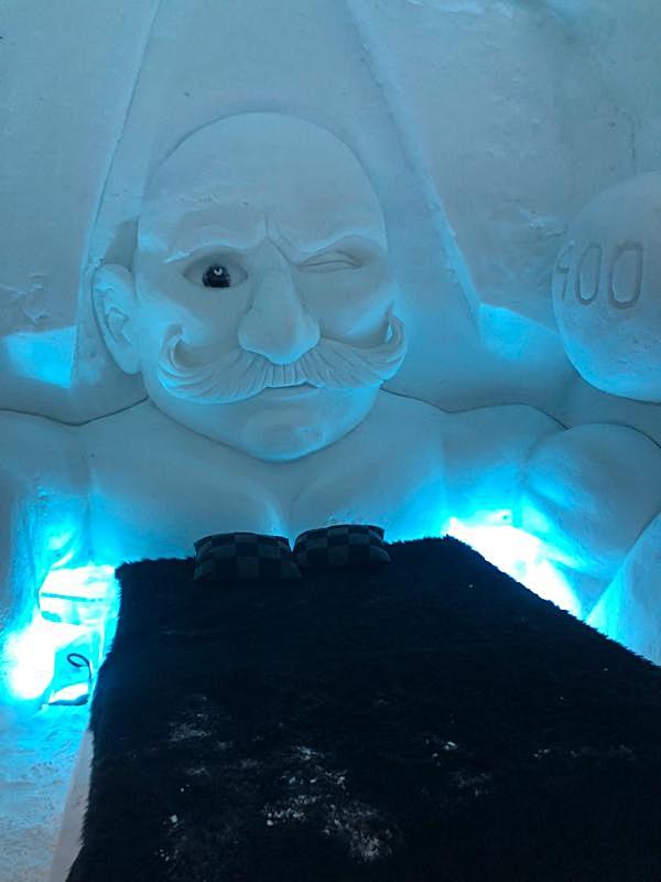 Ice hotel bed 3.JPG