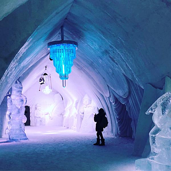 Ice Room with Sculptures