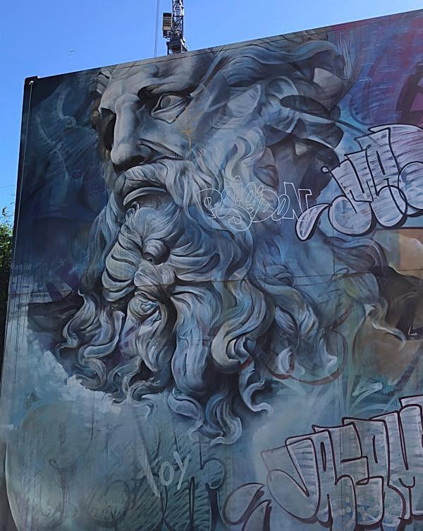 Poseidon Mural