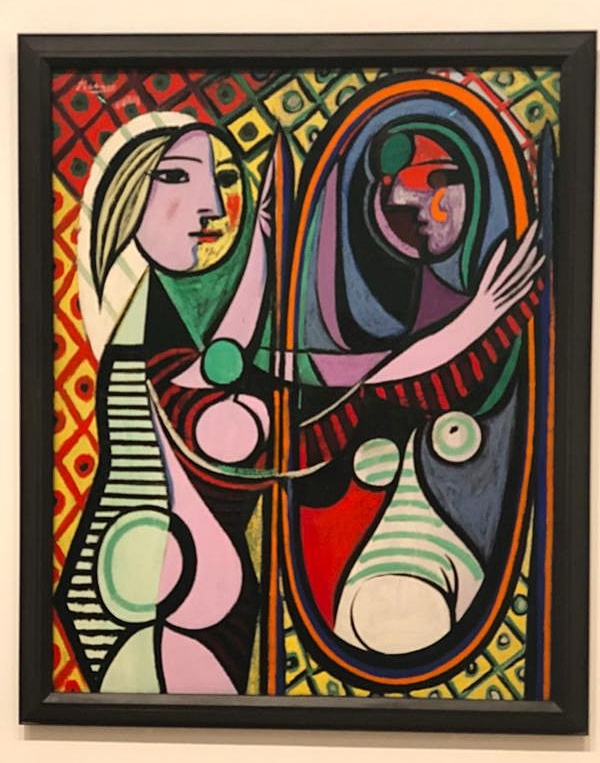 Girl Before A Mirror (on loan from MoMA!)
