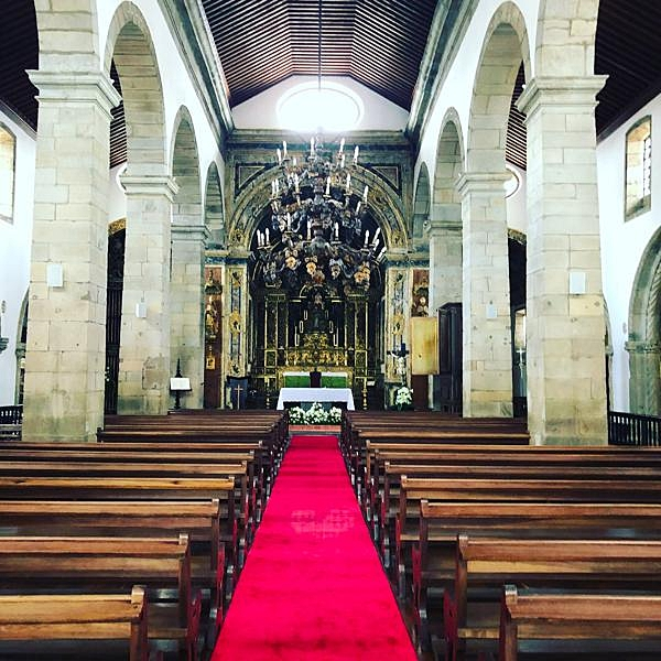 Nave of the Church of Santa Cruz