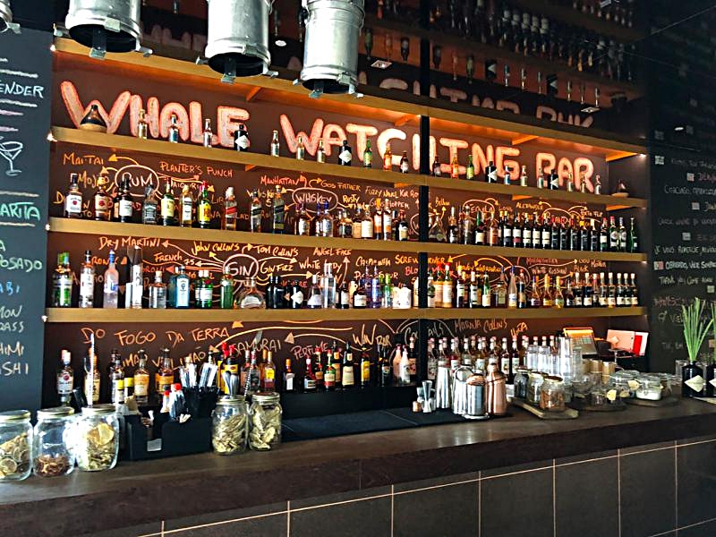The Whale Watch Bar at the Azor Hotel