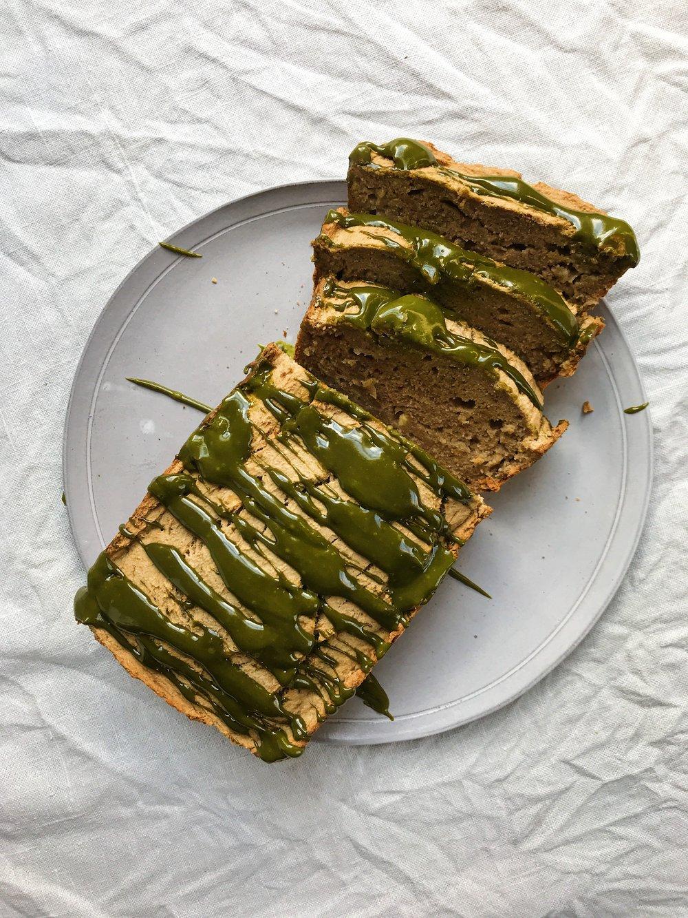 paleo cassava banna bread + matcha5.JPG
