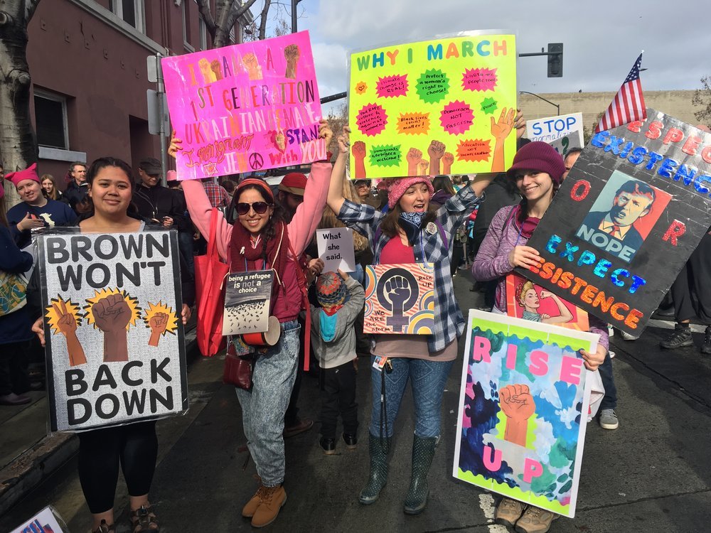 Women's March, San Jose CA