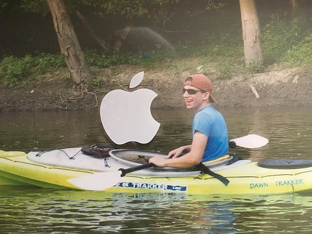 John Cartozian finally joined us on the podcast! If you want to know why there's an Apple sticker on his kayaking photo, then give episode 86 a listen. We promise it's a good one.