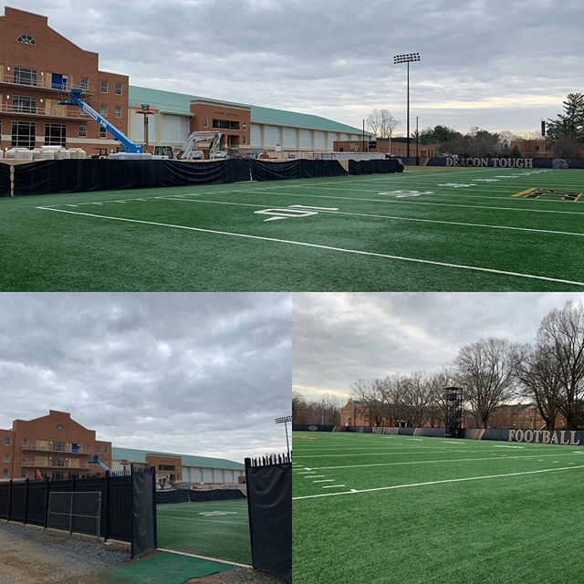 A lot of things have changed for the good @wakefootball in the last 15 years.  A lot of things have changed for the good @wakefootball in the last 15 years since I graduated.  Just wait until you see our new training facility!  Every college recruit will want to be a part of what's going on at Wake!  I'm very excited to be back on campus today for an Athletic Council meeting #godeacs #acc #whywake #wake @wfuniversity @wakeforestmagazine @demondeacons @wakefootball