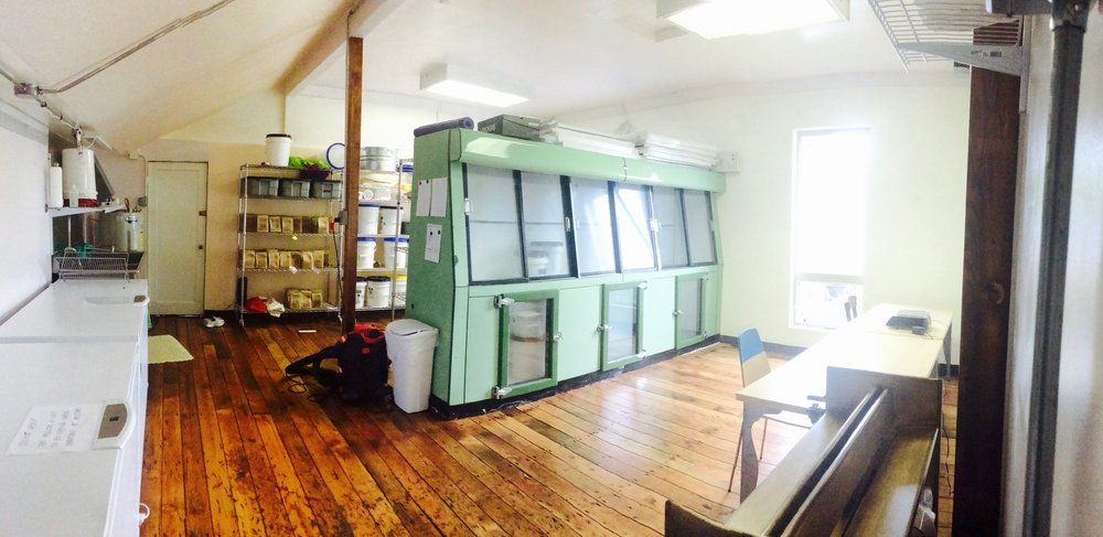 Mic's Mix Co-Pack Facility in Cove Orchard, OR  We have created a commercially certified, dedicated gluten-free, co-pack facility in the old grocery store of Cove Orchard, Oregon. We have given her a gentle make-over, keeping all of her beauty while giving her new life.