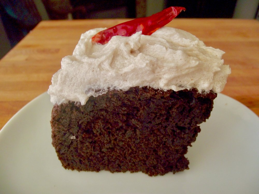 Chocolate Chili Cake