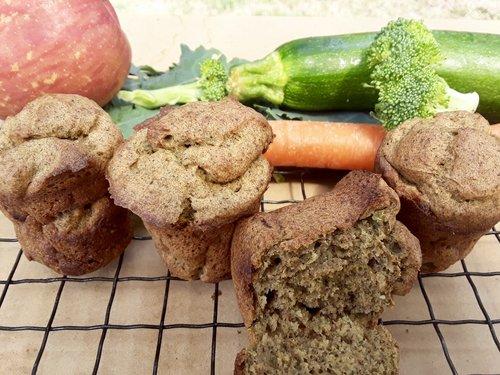 Aumie's Veggie Muffins