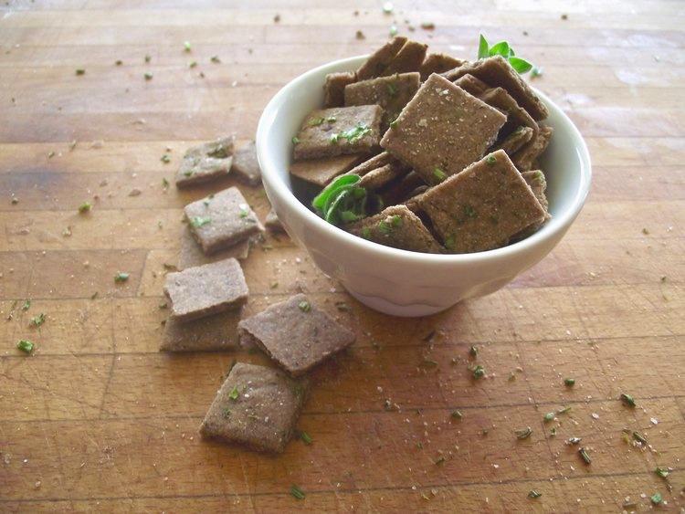 Herbed Crackers (Vegan)