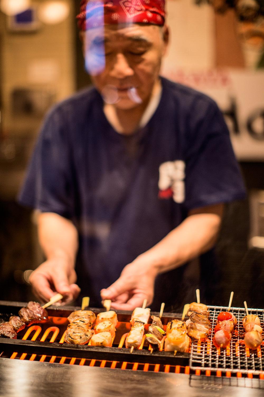 ida Yakitori & Yakiyasai Chef