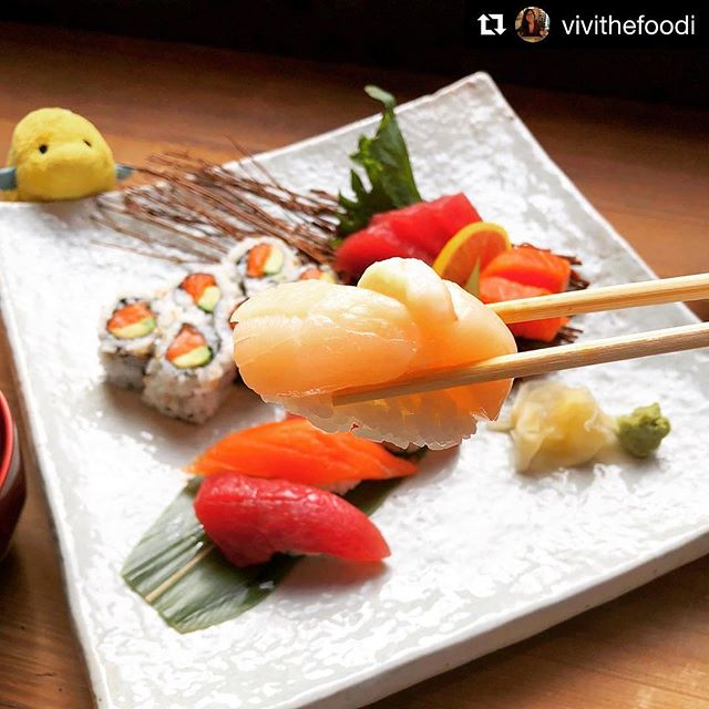 #Repost @vivithefoodi with @get_repost ・・・ 🐠+🙋🏻‍♀️ is loving the sun today ☀️☀️☀️! Perfect weather to get a light and refreshing meal in 😋🍣💕 . . . . . . . #nyceats #nycfat #nycfood #nycfoodie #devourpower #newyorkeats #nycdining #newforkcity #eatupnewyork #nomnomnom #forkyeah #eatingfortheinsta #eeeeeats #foodphotography #foodoftheday #food52grams #foodblogger #sushilover #foodilysm #topcitybites #nycrestaurants  #sushilovers #scallops #asianfood #fwx #myfab5 #yelpeatsnyc #instafood #bombdotcom