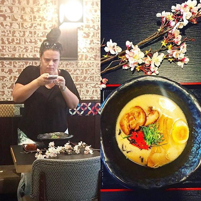 🌸 photo of the photo! via @yumyumfooddude and @thelifeofaglutton #wonderfulphotos #hopeyouenjoyedthefood #ramen #japaneseramen #japanesegastropub #japanesefood #izakaya #upperwestside #food #izakayaida #nyceats #nyc