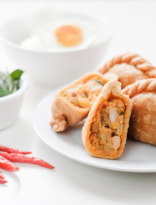 TIP TOPCURRY PUFF -