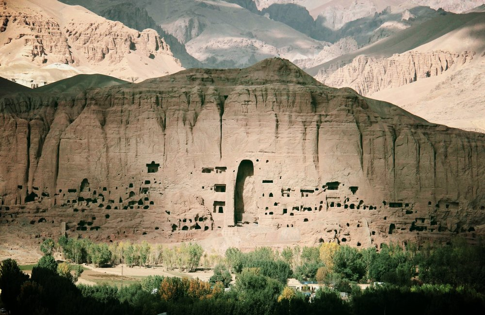 The Eastern Buddha Niche.  UNESCO's Photo Competition, The Afghanistan we are proud of © Latif Azimi